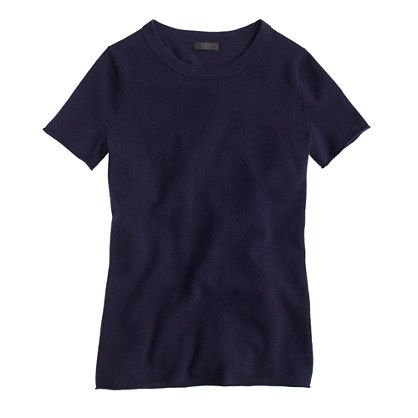 j. crew collection cashmere tee, $148 (take 30% off with code TIMETOSHOP)