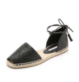 cynthia vincent farie d'orsay espadrilles, $165
