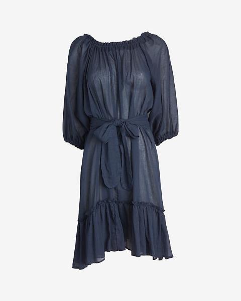 loup charmant airy cotton tent dress, $285