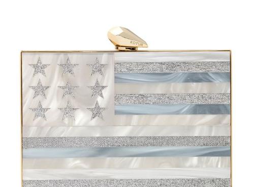 kotur merrick american flag minaudiere, $895