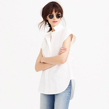 j. crew short-sleeve popover shirt, $78