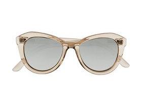 le specs peach pit cat-eye acetate sunglasses, $50