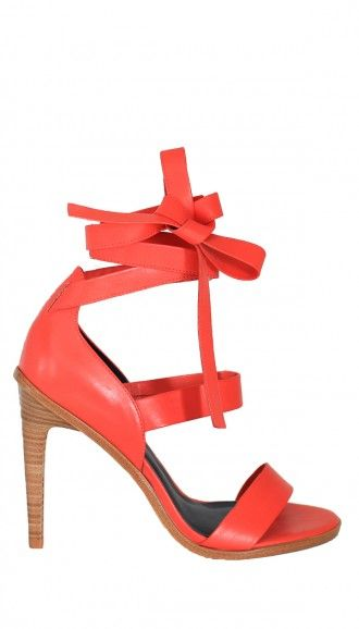 tibi pierce sandal, $270