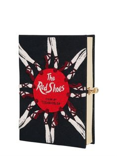 olympia le-tan the red shoes embroidered clutch, $1547