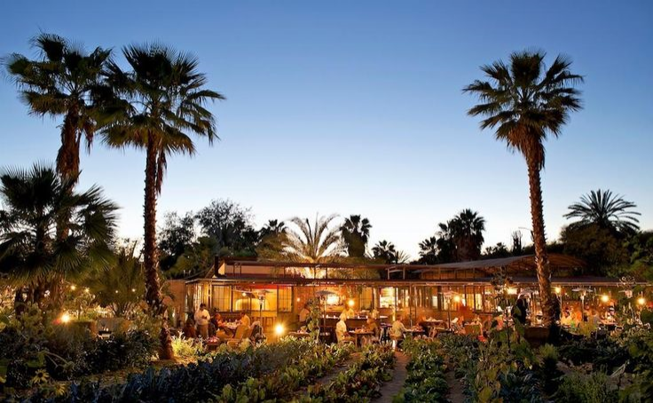dinner at  flora farms  [image via   cuvee escapes ]