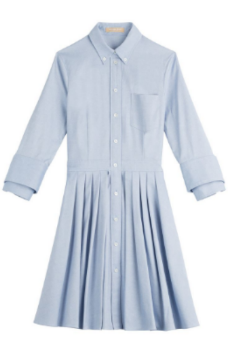 michael kors cotton shirt dress, $675 (i also like  this  and  this )