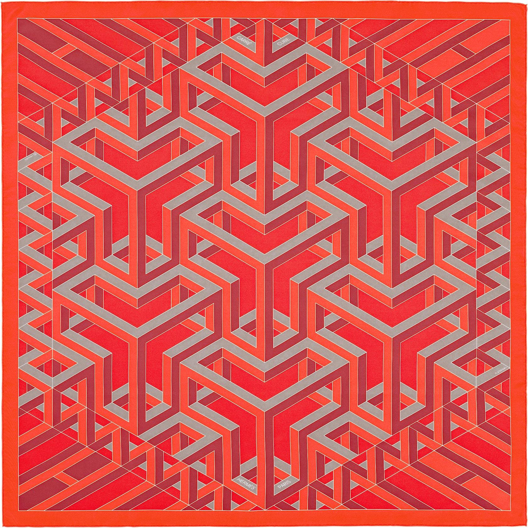 hermès carre cube, $395