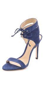 schutz kora suede sandal, $200