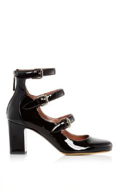 tabitha simmons black patent ginger pump, $745