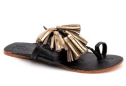 figue scaramouche sandals, $152