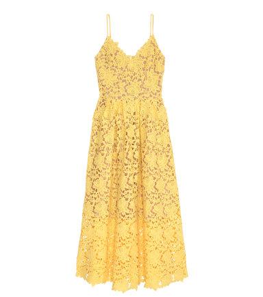 h&m lace dress, $129