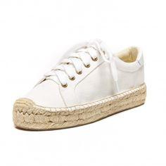 soludos platform sneaker, $89