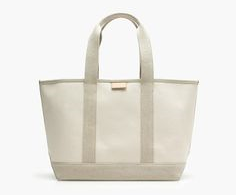 j. crew surfside canvas tote, $59.50 (take 30% off with code SHOPEXTRA)