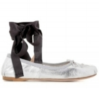 miu miu leather flats, $550 (more styles  here  and  here )