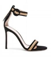 gianvito rossi suede heels, $1095