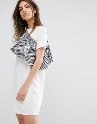 asos t-shirt dress, $37