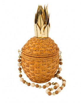 serpui pineapple clutch, $288