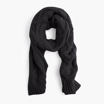 j. crew oversized scarf, $60
