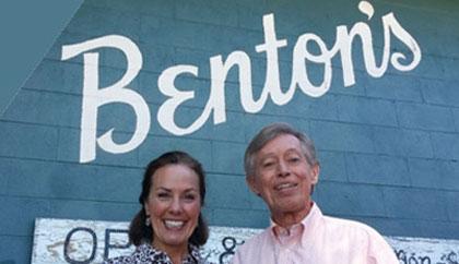 Amy with Allan Benton October, 2014.