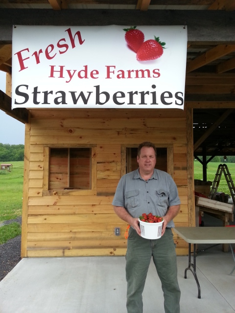 Mitchell Hyde of Hyde Farm, Greenback, Tn. Our feature on May 7, 2016.