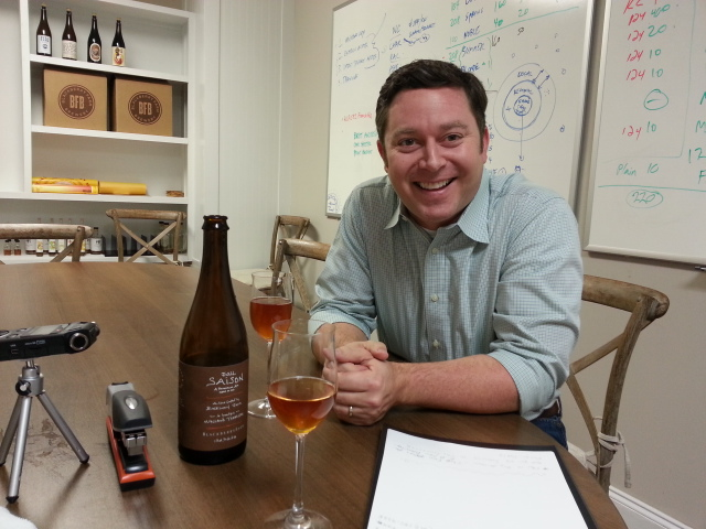 Roy Milner, partner with Blackberry Farm Brewery, Blount County, Tennessee.