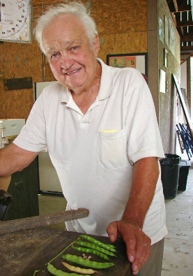 Bill Best: Seed saver, founder of the Sustainable Mountain Agriculture Center, Inc. http://www.heirlooms.org/  Photo: By Susan Smith-Durisek - Contributing Garden Writer of the Lexington Herald Ledger
