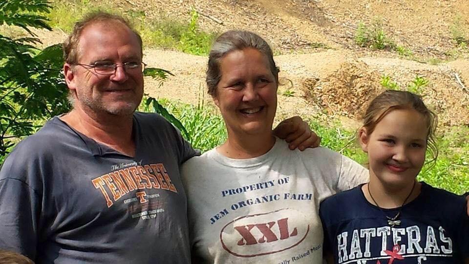 John, Elizabeth and Emma Malayter of  JEM Farm  in Rogersville, TN.
