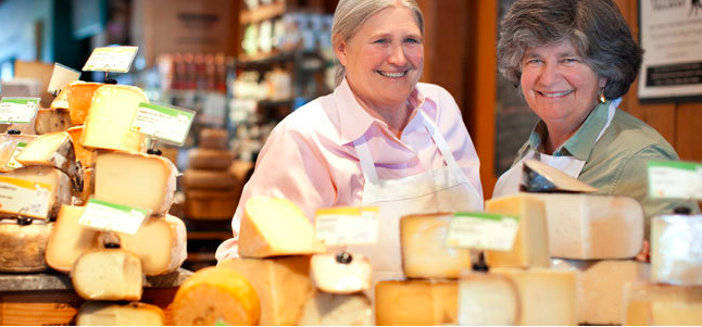 Peg and Sue of Cowgirl Creamery. (Photo from Cowgirl Creamery website) Connect with Cowgirl Creamery here:  https://cowgirlcreamery.com/