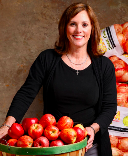 Elaine Streno (Executive Director) Second Harvest East Tennessee. Photo from  https://secondharvestetn.org/contact/