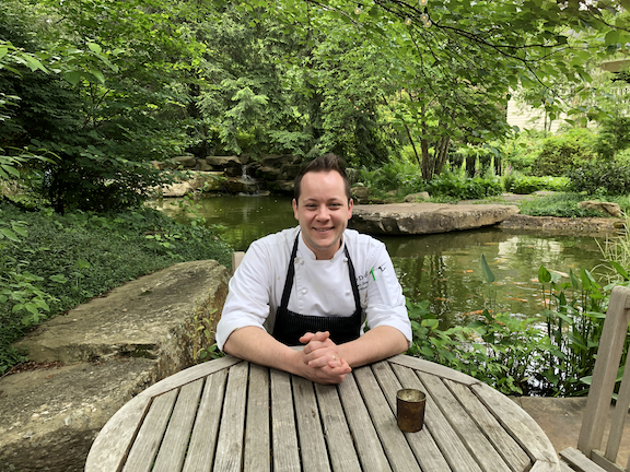 "Executive Chef Trevor Stockton of RT Lodge, Maryville, TN - the location of ""The Gathering"", August 2-4, 2019:  https://www.rtlodge.com/events"