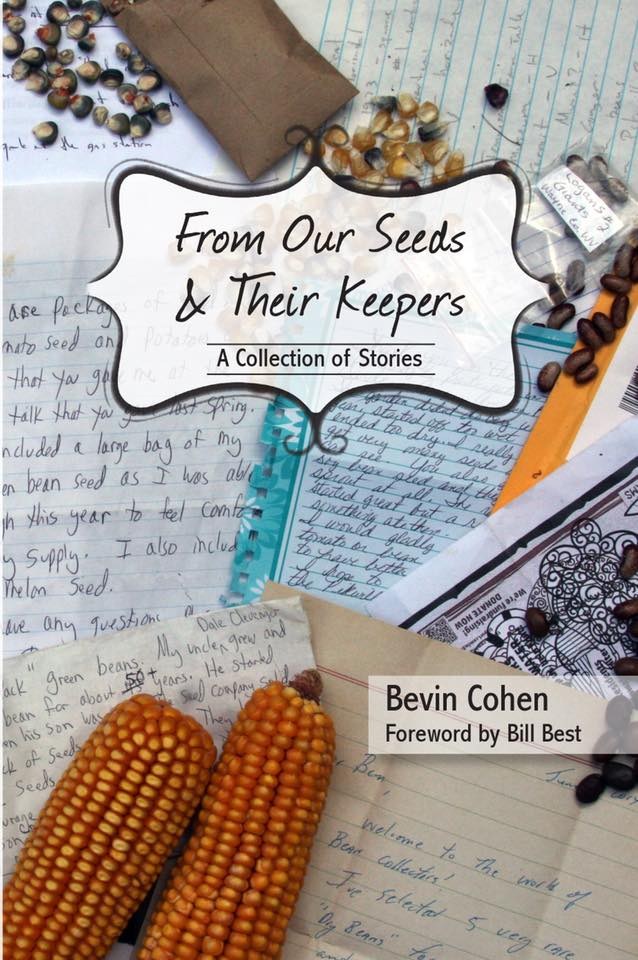 "Ben Cohen's book. Ben Cohen will be teaching a free class ""Seed Saving 101"", August 28th, 2-3:00 P.M. at the Blount County Public Library. Children 10 and up are invited to attend. :  http://www.smallhousefarm.com/about-us/"