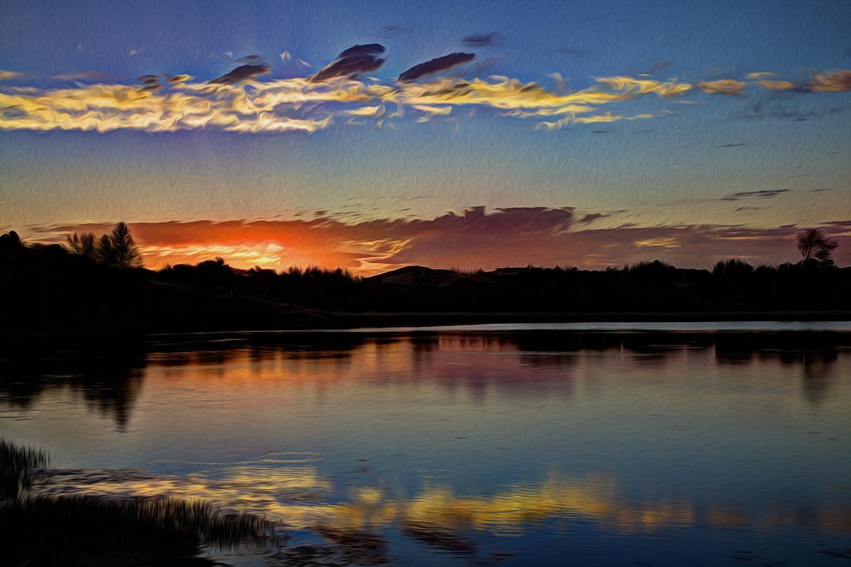 Sunset on Jack'27s Pond.jpg