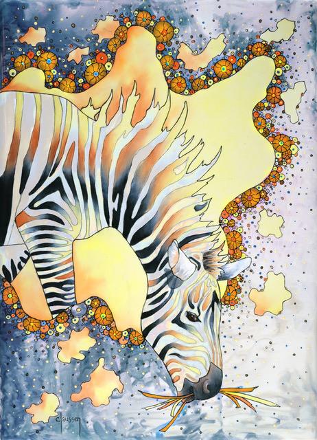 Claussen porcelain zebra.jpeg