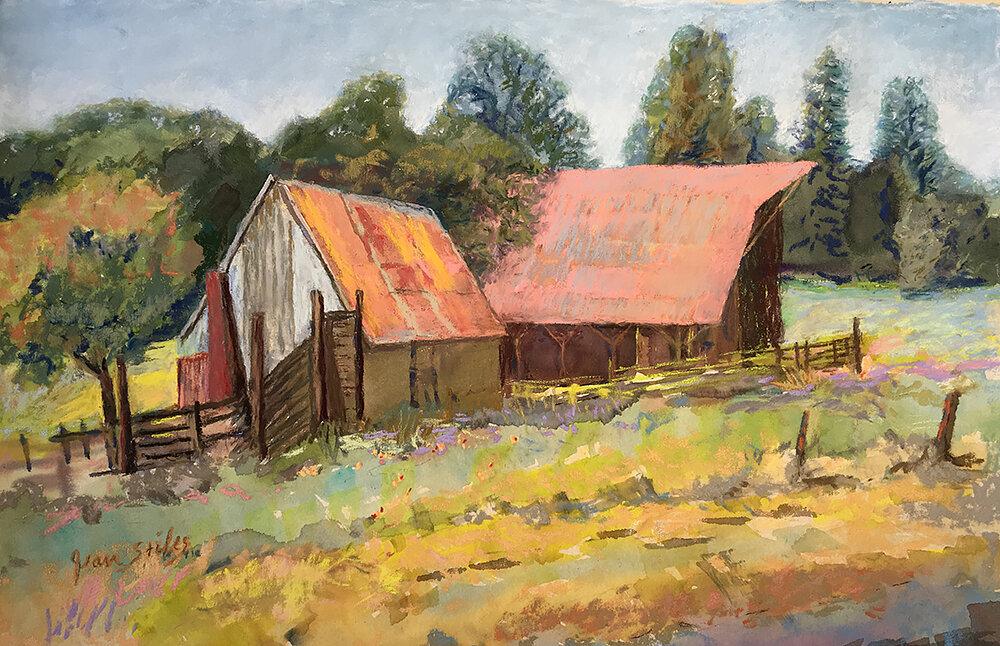 Stiles_Hay Barn and Cow Ramp,  Highway 49_web.jpg