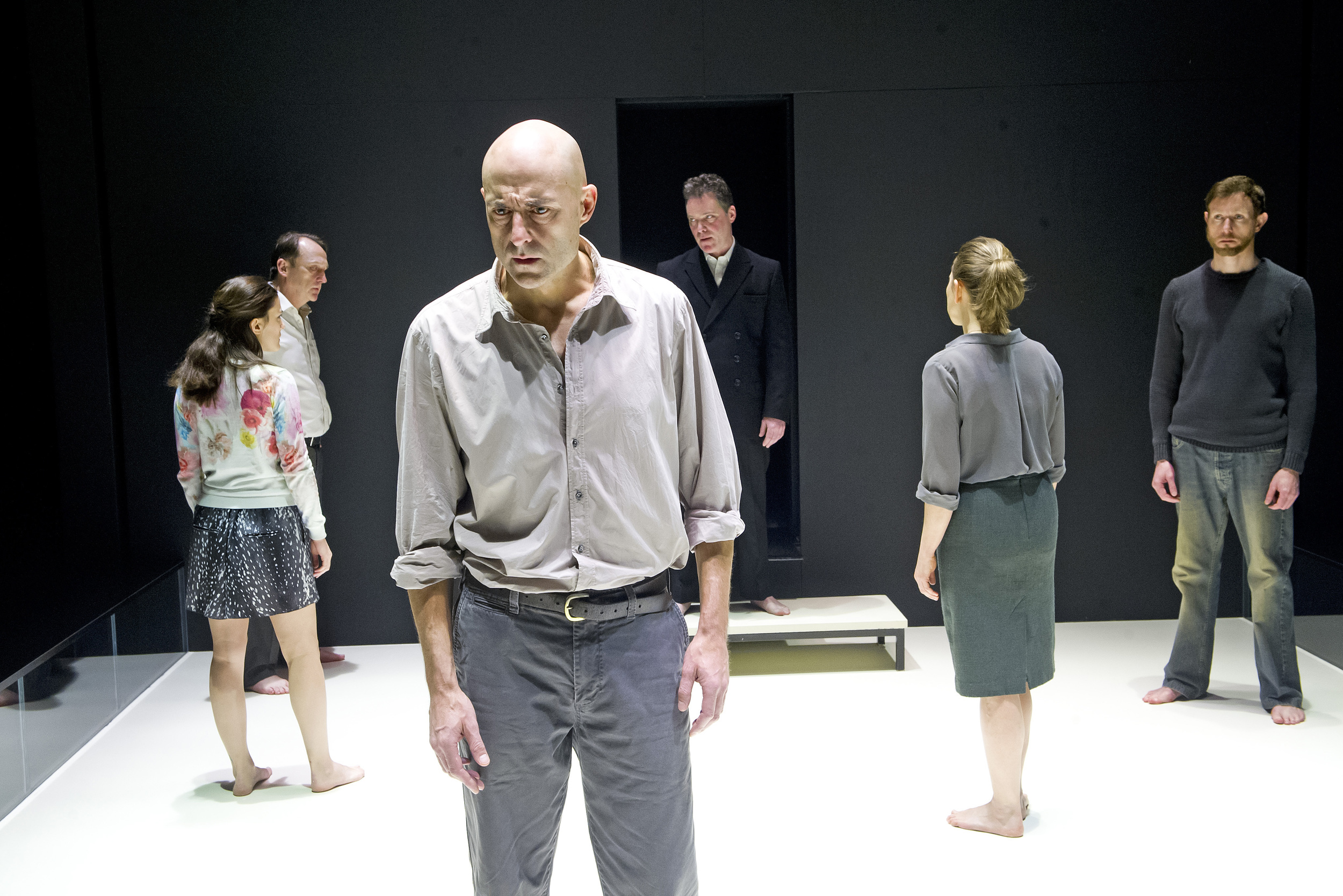 Mark Strong in The View from the Bridge. Photo: Tristram Kenton/The Guardian.
