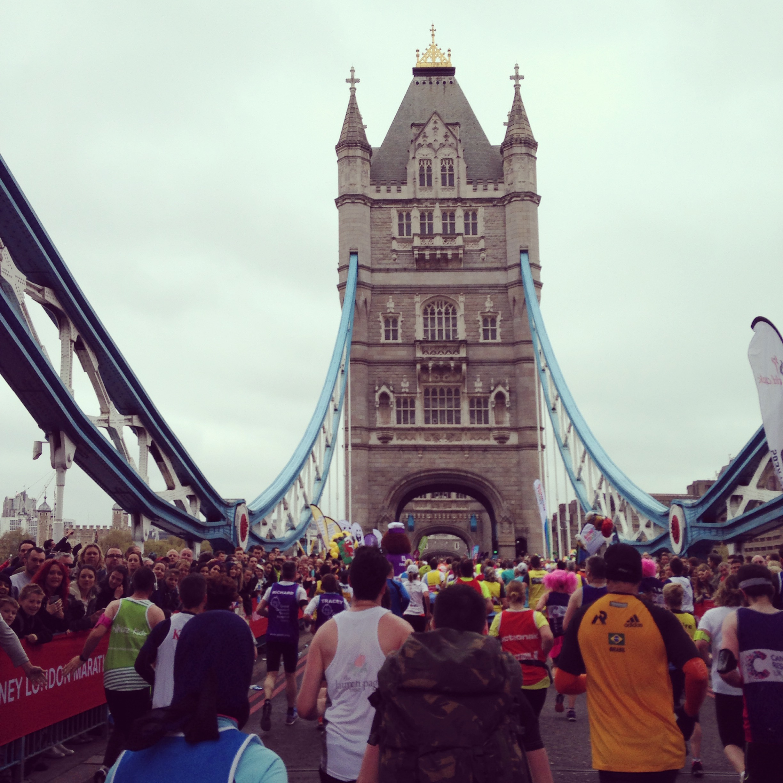 Crossing Tower Bridge