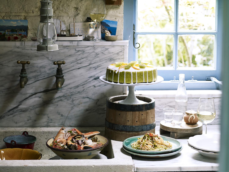 Giorgio Locatelli's final meal. Photography: Emma Lee
