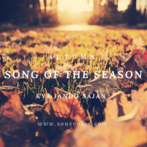 Sou's Voice Song of the Season Autumn