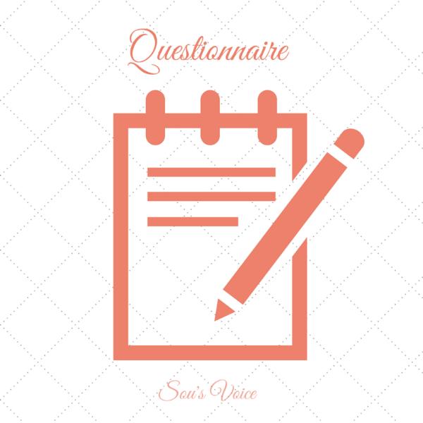 questionnaire sou's voice
