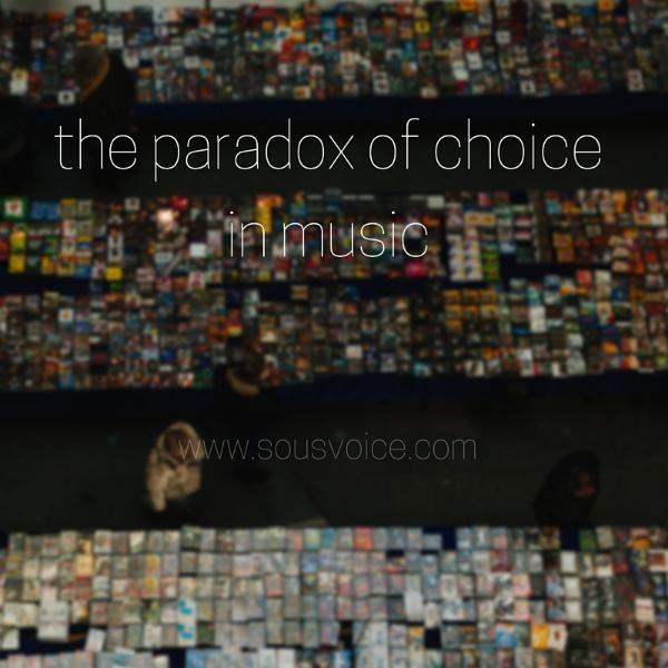 paradox choice music sou's voice