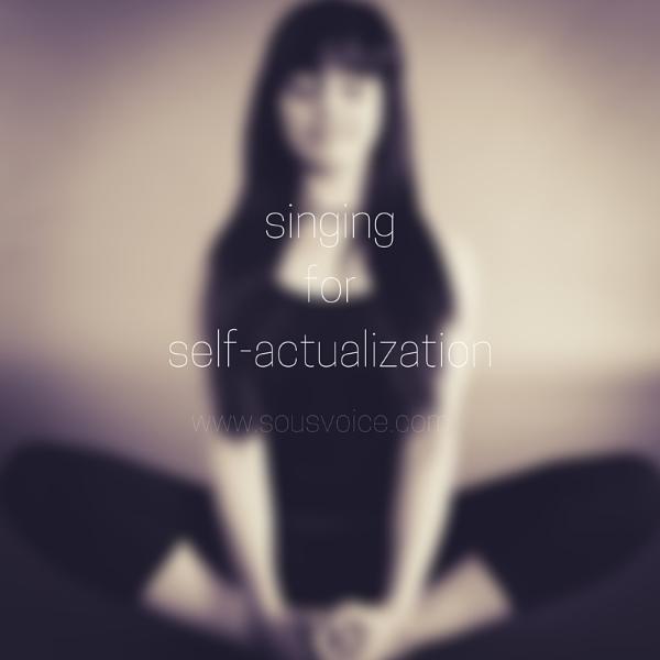 singing self-actualization sou's voice