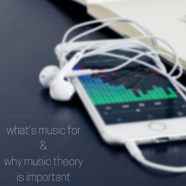 what's music for music theory sou's voice