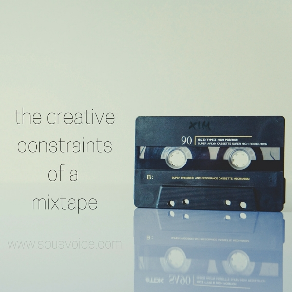 mixtape creative constraints sou's voice