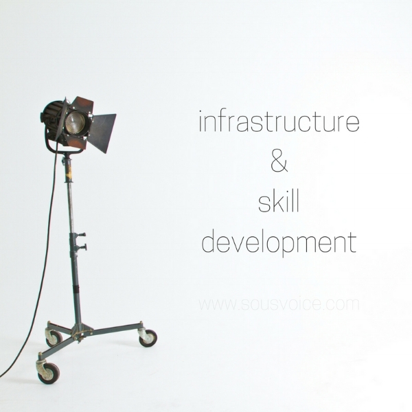 infrastructure and skill development sou's voice