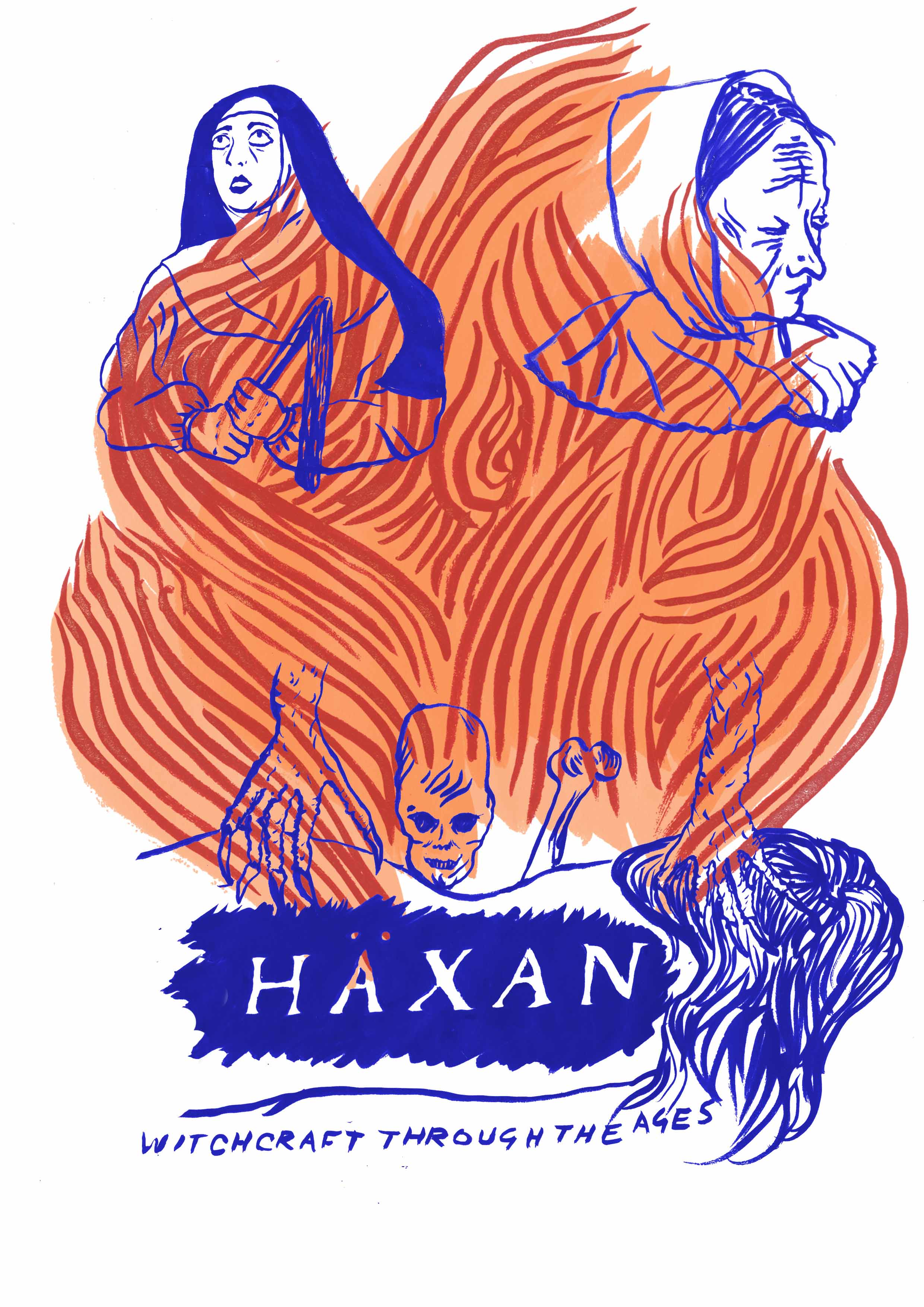 Häxan Poster by  Charlotte Procter