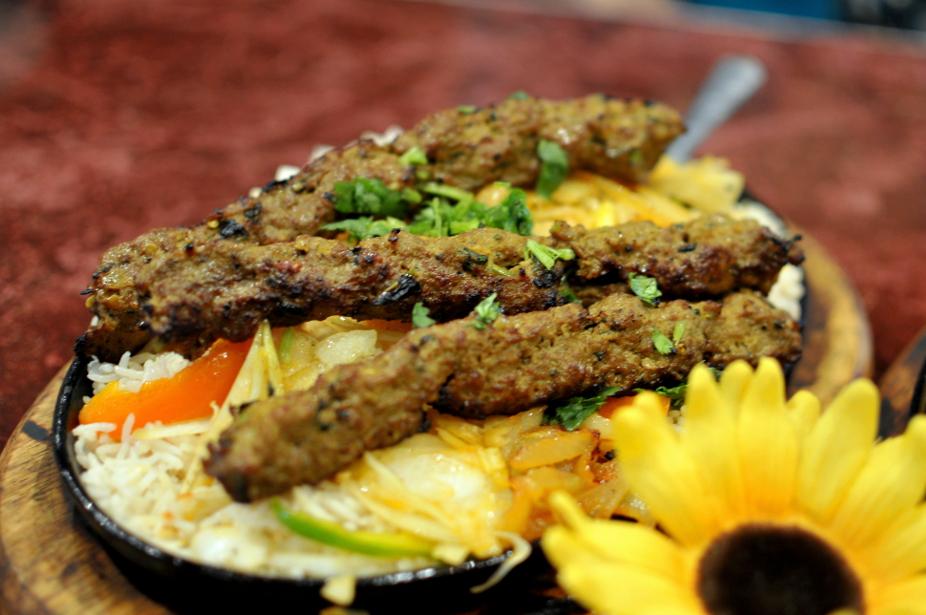 Lahori Beef Kabob, $2.35 per skewer