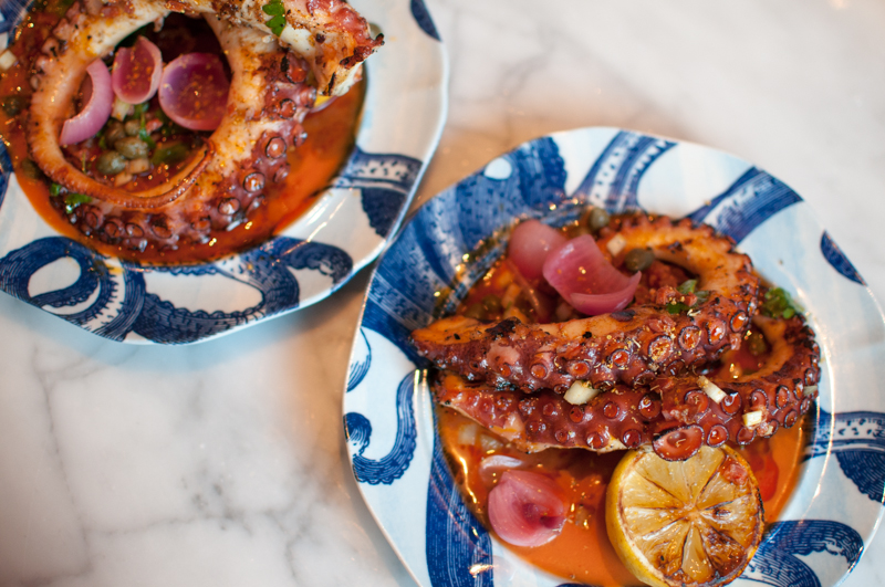 Portland Variety Grilled Octopus