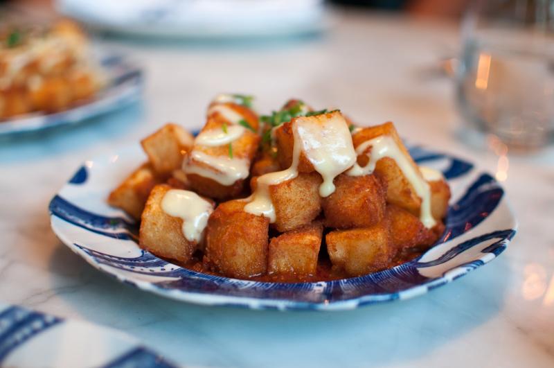 Portland Variety Patatas bravas