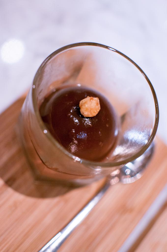 Portland Variety Dark Chocolate Praline Mousse