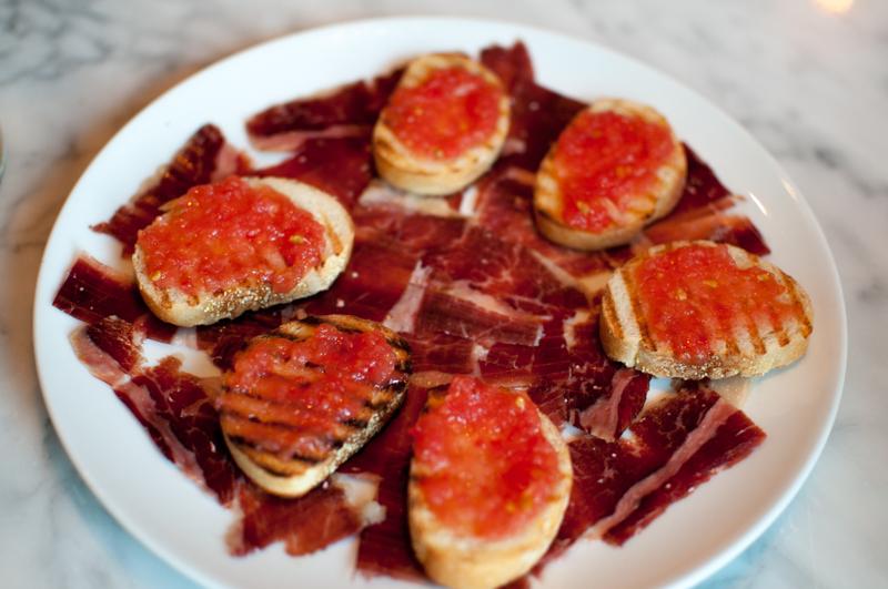Portland Variety Jamon Iberico Pan Con Tomate